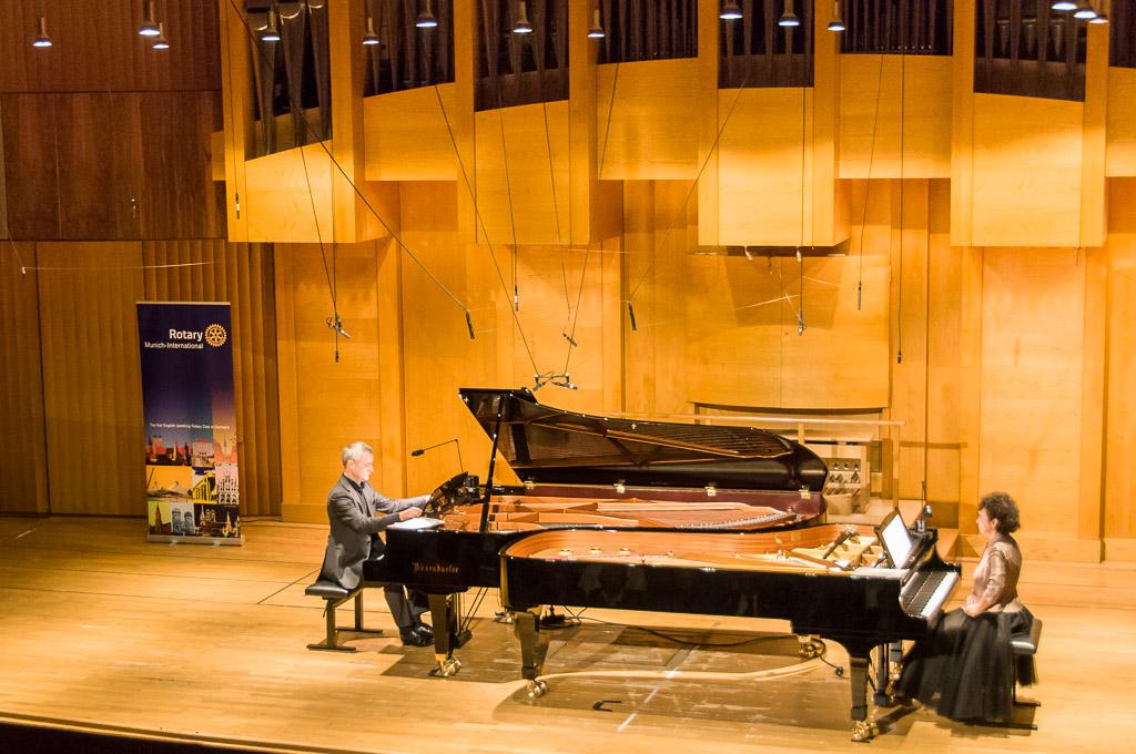 RCMI Benefitzkonzert in der Hochschule für Musik und Theater München