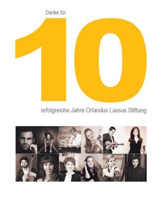 10-Jahre Orlandus Lassus Stiftung